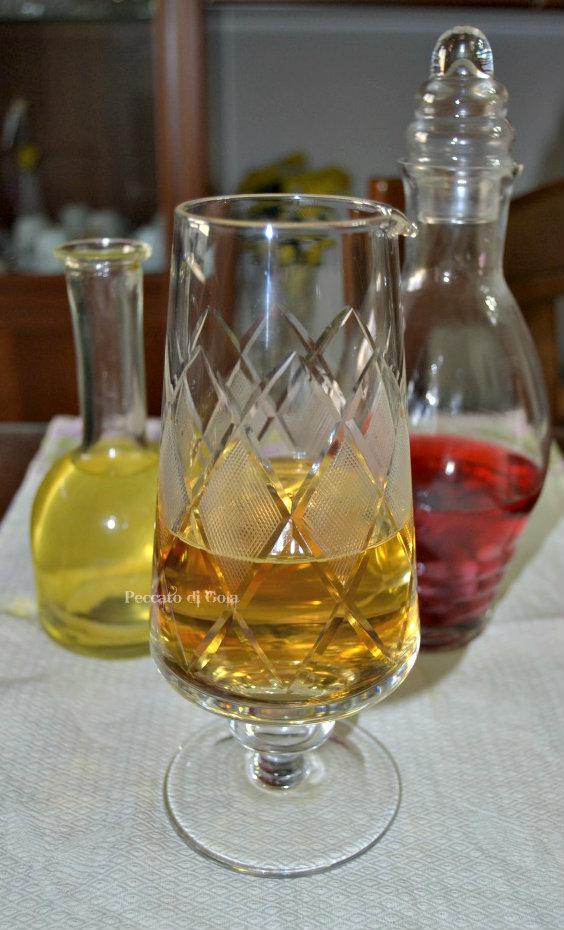 ricetta aceto di vino bianco peccato di gola
