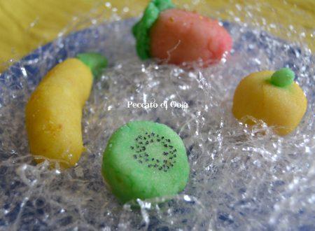 Frutta martorana ricetta siciliana