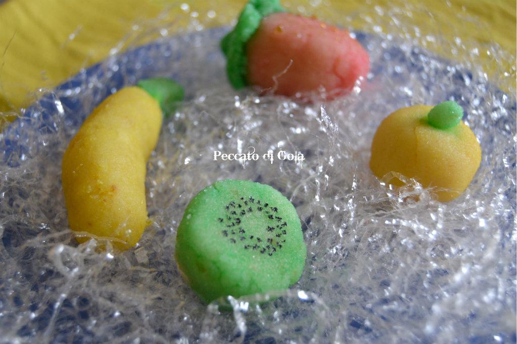 ricetta frutta martorana, peccato di gola