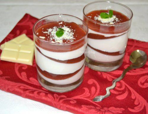 Panna cotta nel bicchiere, ricetta dolce