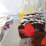 Plumcake con cuore, dolce di San Valentino