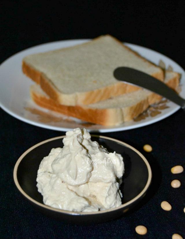 ricetta formaggio spalmabile di soia, peccato di gola