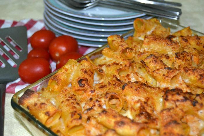 ricetta pasta e cavolfiore al forno, peccato di gola
