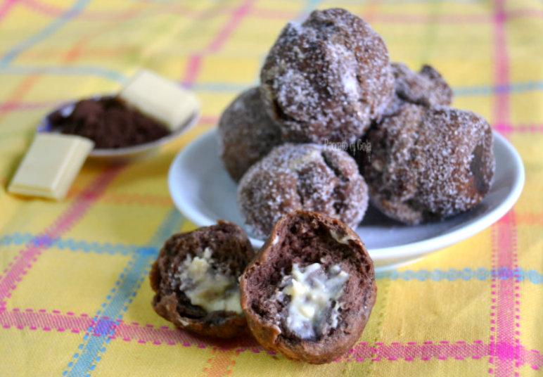 ricetta castagnole al cacao, peccato di gola