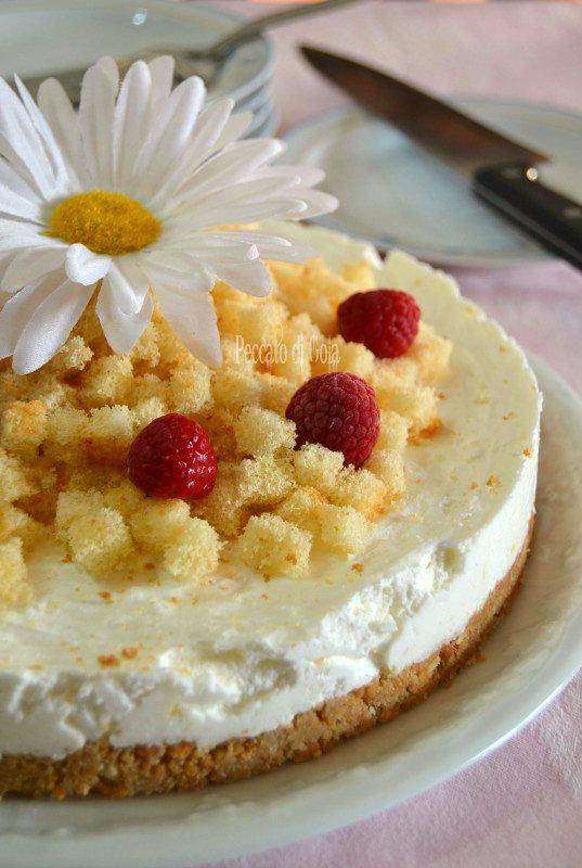 ricetta mimosa cheesecake, peccato di gola