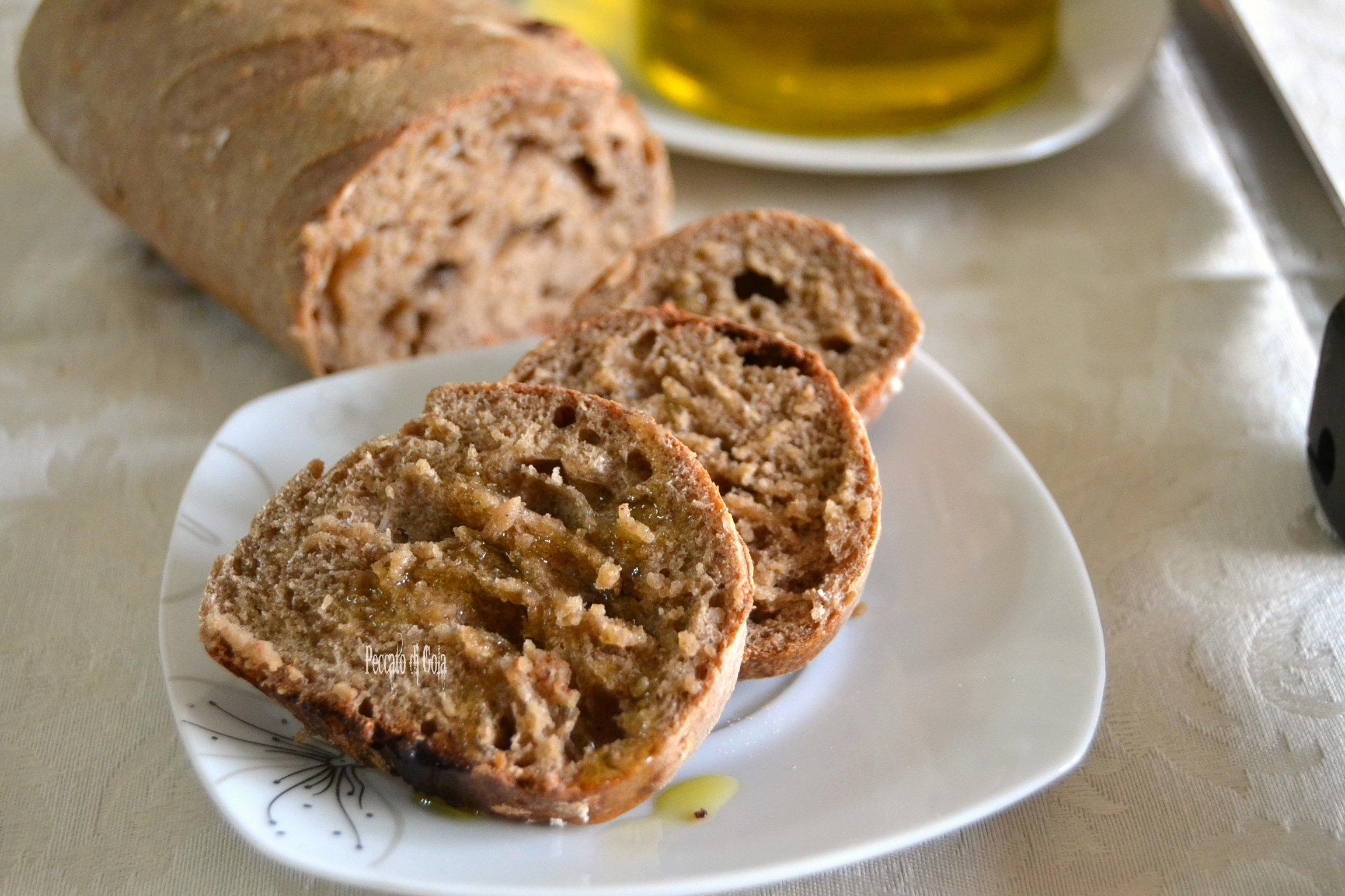 ricetta pane integrale con lievito madre, peccato di gola