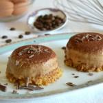 Mini cheesecake al tiramisù con uova pastorizzate