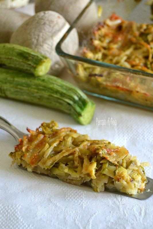 ricetta patate e zucchine a fiammifero, peccato di gola