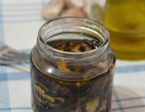 Melanzane grigliate sott'olio