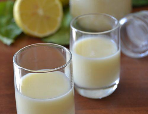 Crema di limoncello, liquore artigianale