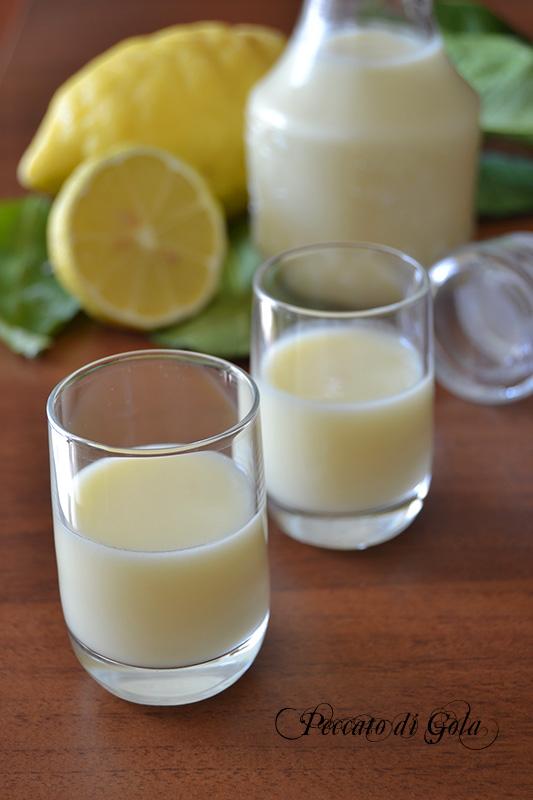 ricetta crema di limoncello, peccato di gola