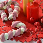 Candy canes cookies decorate