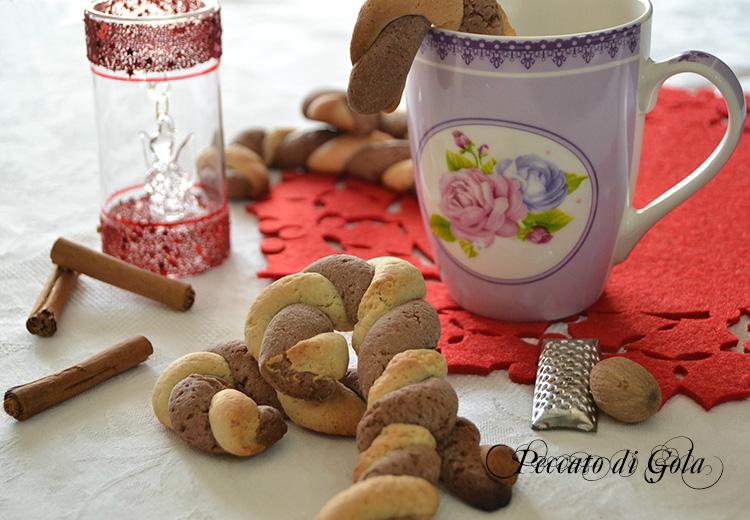 ricetta candy canes cookies, peccato di gola