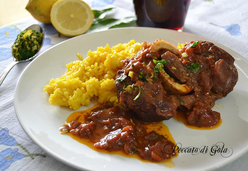 Ossobuco alla milanese ricetta tipica lombarda for Cucinare ossobuco