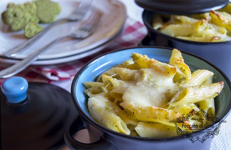 ricetta pasta coi broccoletti al forno, peccato di gola