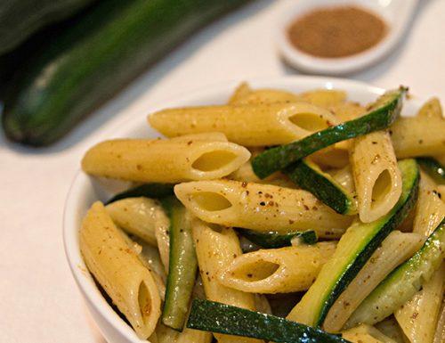 Pasta zucchine e bottarga