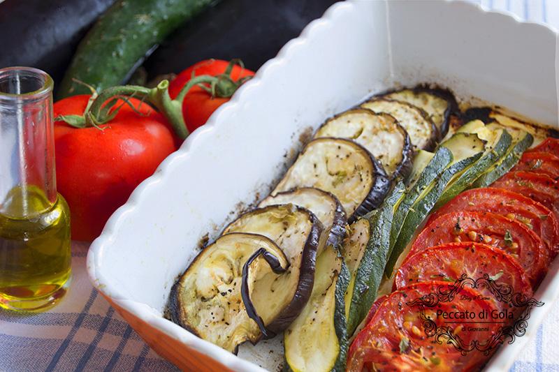 ricetta verdure al forno, peccato di gola