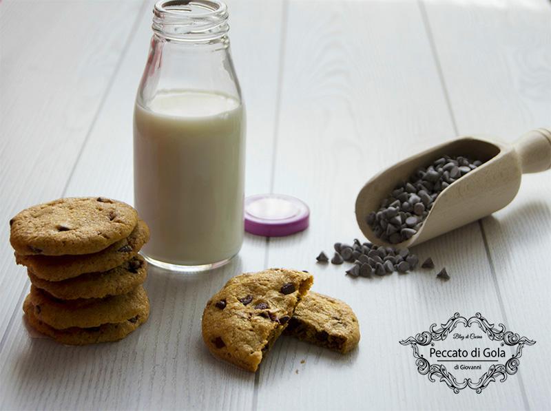 ricetta cookies bacon e cioccolato, peccato di gola