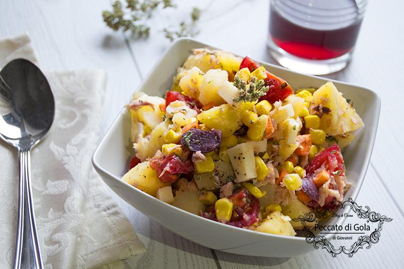 ricetta insalata di patate, peccato di gola