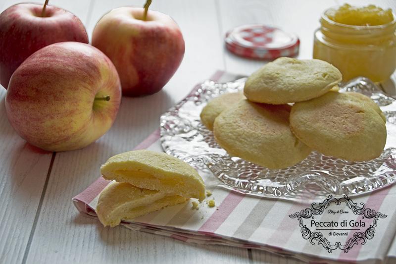 ricetta biscotti cuor di mela, peccato di gola