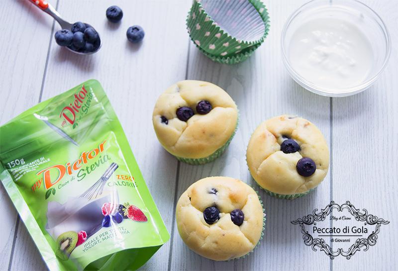 ricetta muffin allo yogurt, peccato di gola