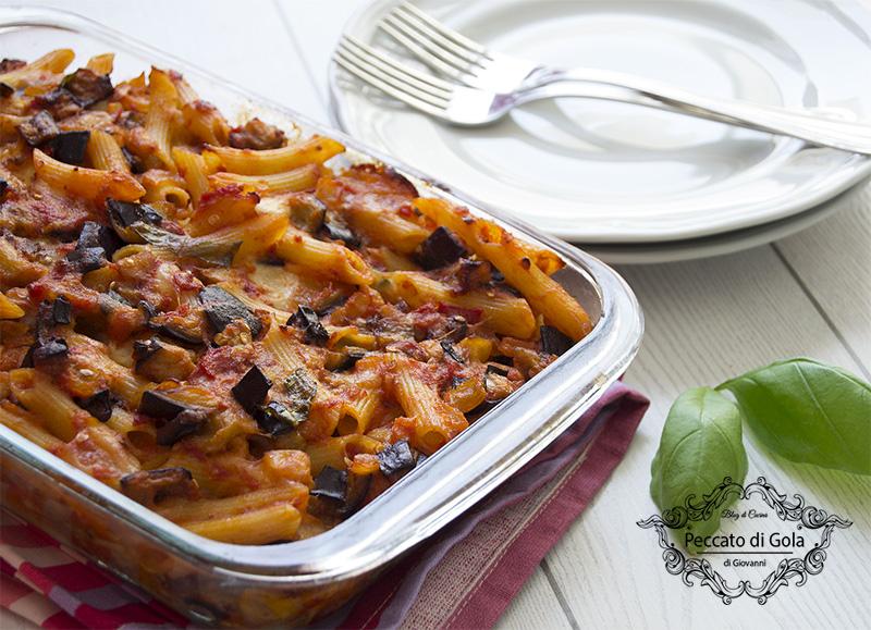 ricetta pasta siciliana al forno, peccato di gola