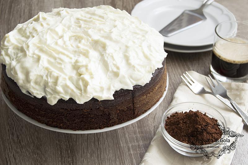 ricetta chocolate guinness cake, peccato di gola