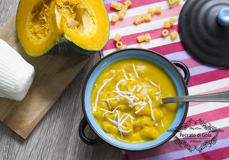 ricetta minestra di zucca alla milanese, peccato di gola