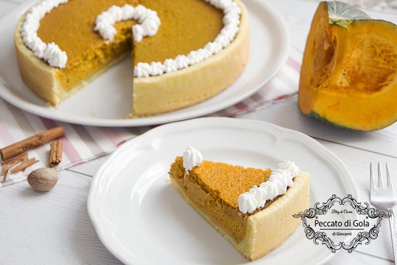 ricetta pumpkin pie, peccato di gola