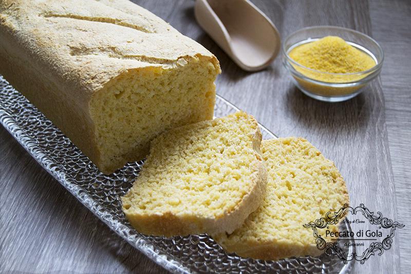 ricetta pane con farina di mais, peccato di gola