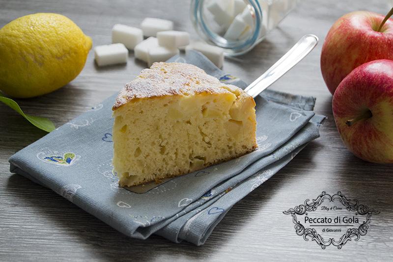 ricetta torta di mele soffice, peccato di gola 1