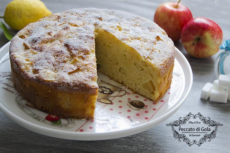ricetta torta di mele soffice, peccato di gola