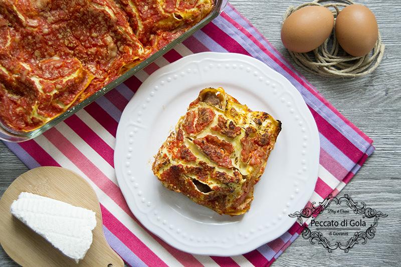 ricetta lasagne napoletane, peccato di gola