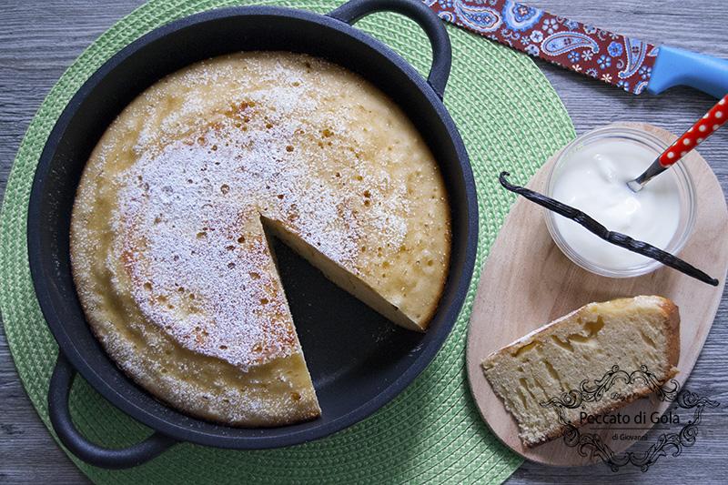 ricetta torta in padella, peccato di gola
