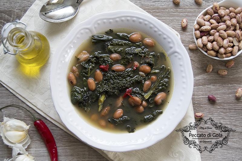 ricetta zuppa dicavolo nero e fagioli, peccato di gola