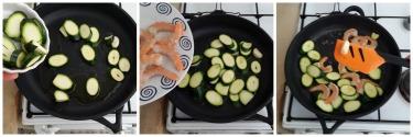 paccheri gamberi e zucchine, peccato di gola 2
