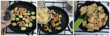 paccheri gamberi e zucchine, peccato di gola 3