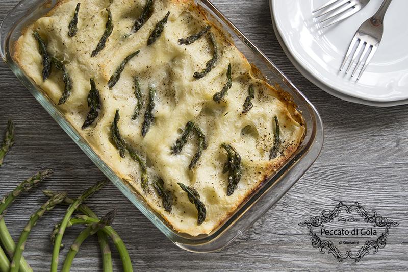 ricetta lasagne agli asparagi, peccato di gola