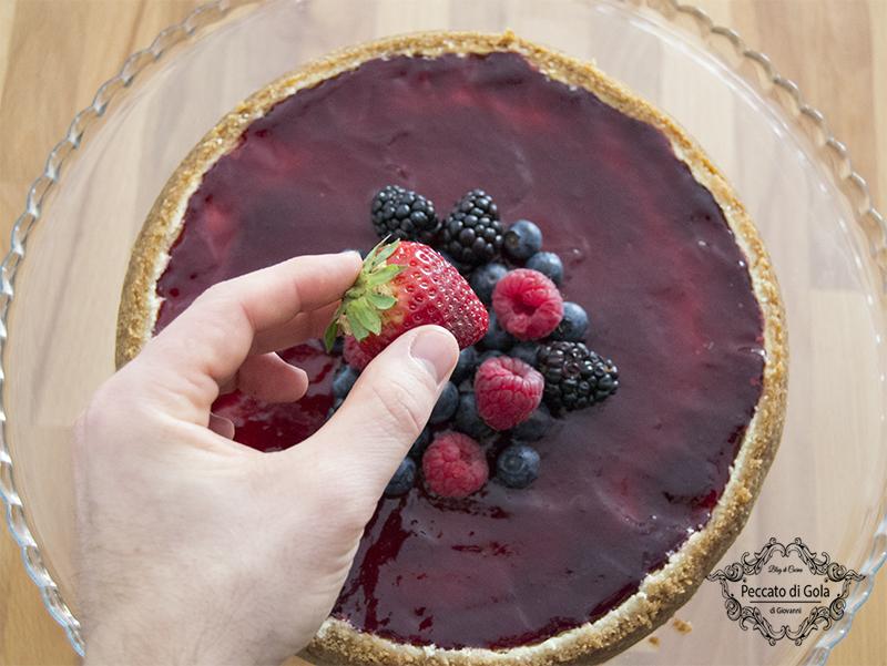 ricetta new york cheesecake, peccato di gola di giovanni 2