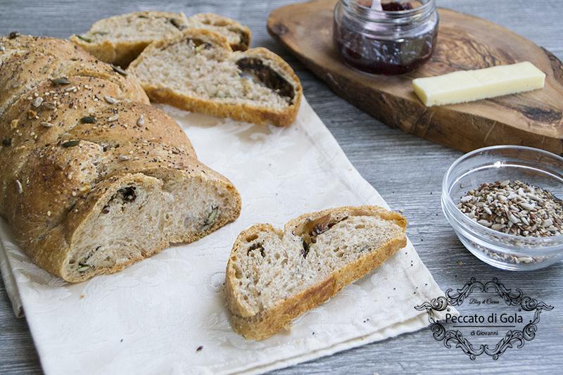ricetta pane con farina di farro, peccato di gola