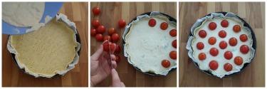 Torta salata con ricotta e pomodorini, peccato di gola di giovanni 4