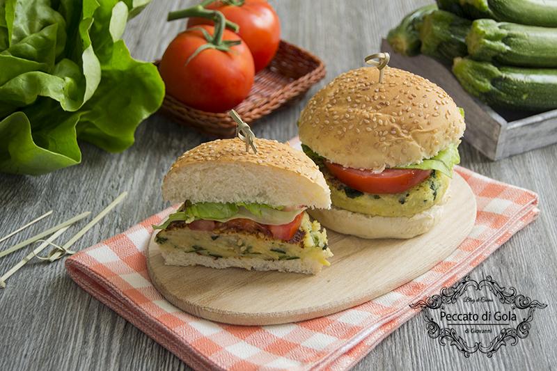 ricetta burger di zucchine, peccato di gola di giovanni