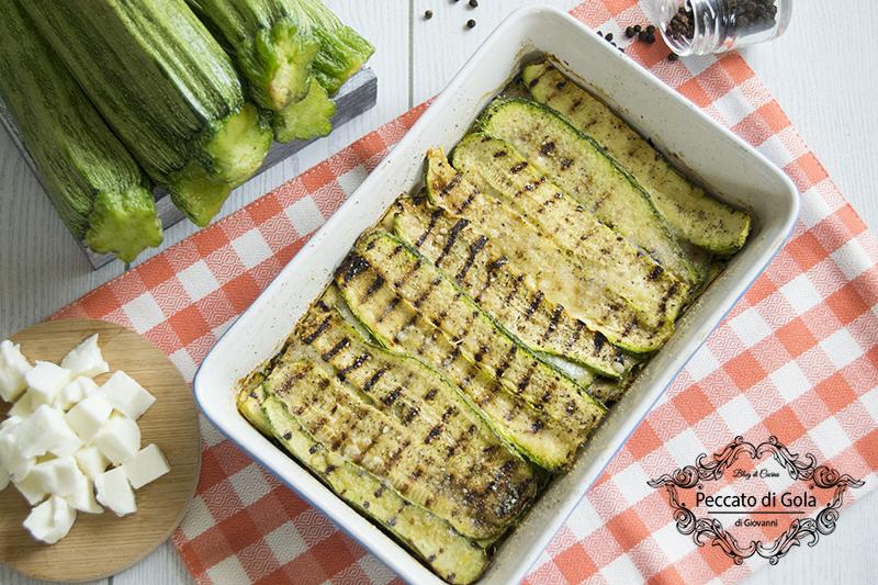 ricetta parmigiana di zucchine light, peccato di gola di giovanni