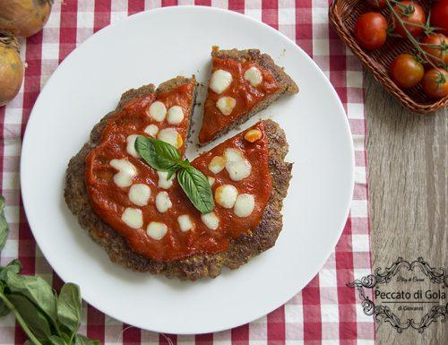 Pizza di carne in padella