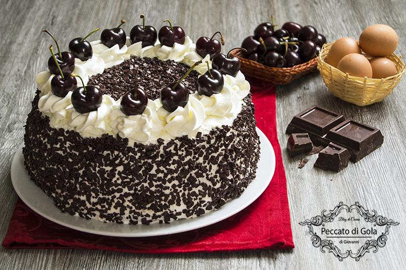 ricetta torta foresta nera, peccato di gola di giovanni
