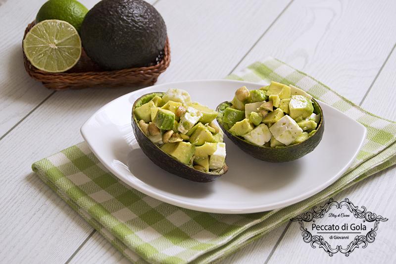 ricetta avocado ripieno, peccato di gola di giovanni