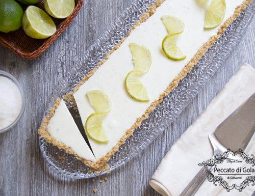 Cheesecake lime e cocco