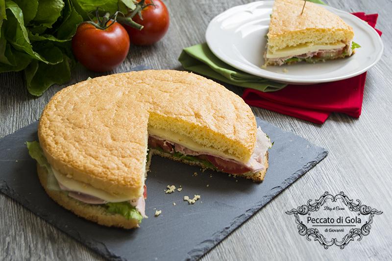 Pan di spagna salato
