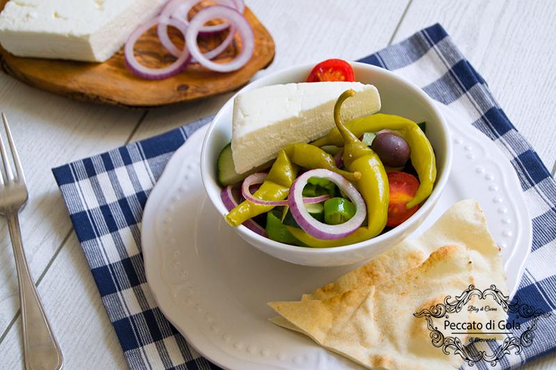 ricetta insalata greca, peccato di gola di giovanni