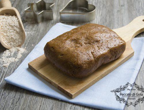 Pasta frolla con farina di farro